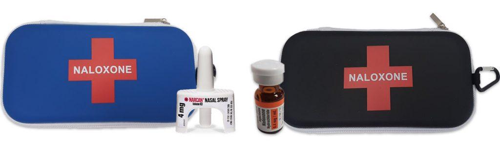Naloxone Kits with spray and vial