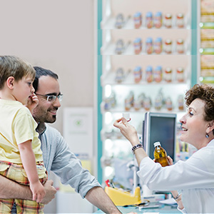 Pharmacist Helping